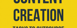 Outsource Content Creation