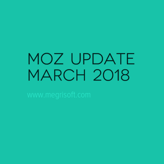 Moz Domain Authority Updated – March 2018